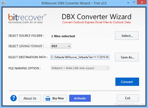 DBX Converter Wizard 3 Crack With full Version Free Download